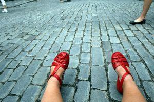 Mina röda skor